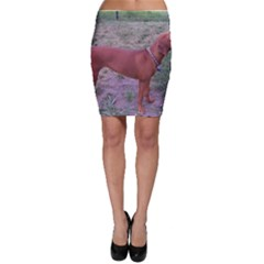 Redbone Coonhound Full Bodycon Skirt