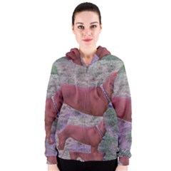 Redbone Coonhound Full Women s Zipper Hoodie