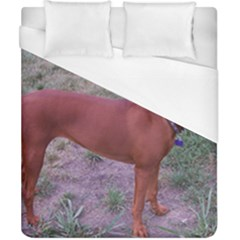 Redbone Coonhound Full Duvet Cover (California King Size)