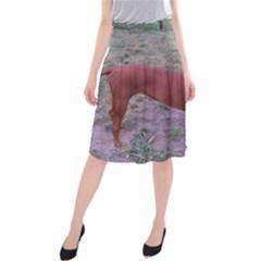 Redbone Coonhound Full Midi Beach Skirt