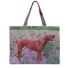 Redbone Coonhound Full Large Tote Bag