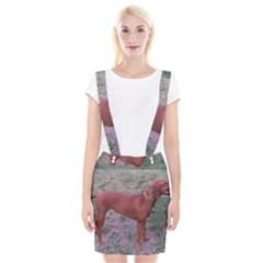Redbone Coonhound Full Suspender Skirt