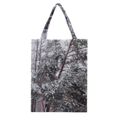 Winter Fall Trees Classic Tote Bag
