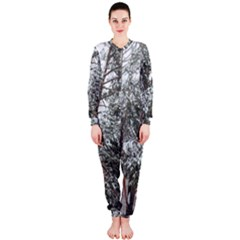 Winter Fall Trees OnePiece Jumpsuit (Ladies)