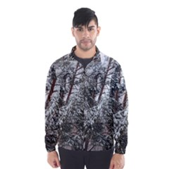 Winter Fall Trees Wind Breaker (Men)