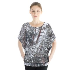 Winter Fall Trees Blouse