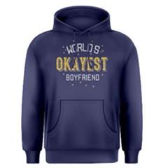 World s Okayest Boyfriend    Men s Pullover Hoodie