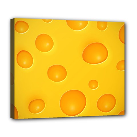 Cheese Deluxe Canvas 24  x 20
