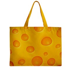 Cheese Zipper Mini Tote Bag