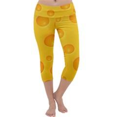 Cheese Capri Yoga Leggings