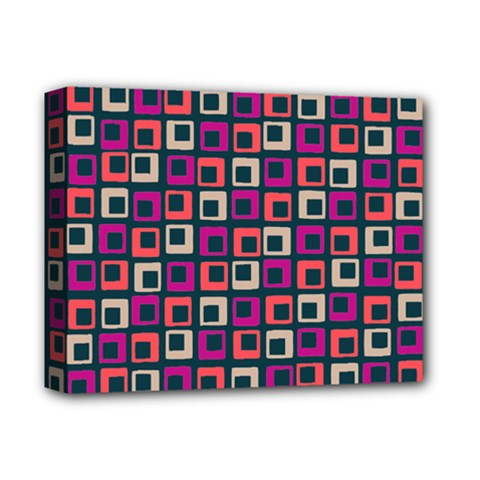 Abstract Squares Deluxe Canvas 14  x 11