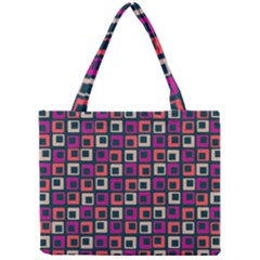 Abstract Squares Mini Tote Bag