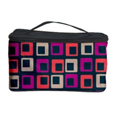 Abstract Squares Cosmetic Storage Case