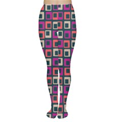 Abstract Squares Women s Tights