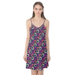 Abstract Squares Camis Nightgown