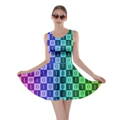 Checker Number One Skater Dress