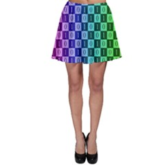 Checker Number One Skater Skirt