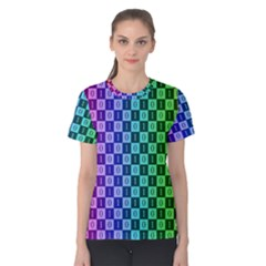 Checker Number One Women s Cotton Tee