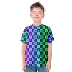 Checker Number One Kids  Cotton Tee