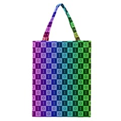 Checker Number One Classic Tote Bag