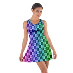 Checker Number One Cotton Racerback Dress