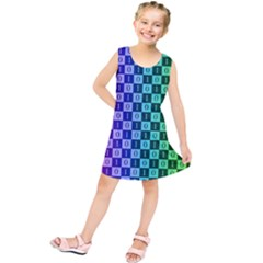 Checker Number One Kids  Tunic Dress