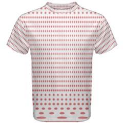 Dalmatian Red Circle Men s Cotton Tee
