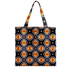 Egg Yolk Zipper Grocery Tote Bag