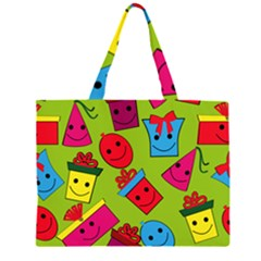 Happy Birthday Background Large Tote Bag