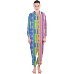 Psychedelic Carpet Hooded Jumpsuit (Ladies)