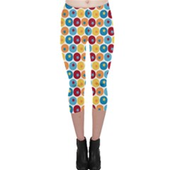 Star Ball Capri Leggings