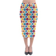 Star Ball Midi Pencil Skirt