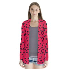 Watermelon Seeds Cardigans