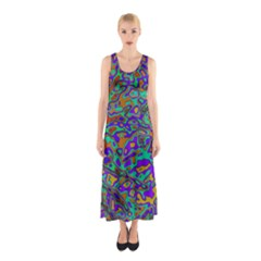 We Need More Colors 35a Sleeveless Maxi Dress