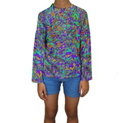 We Need More Colors 35a Kids  Long Sleeve Swimwear