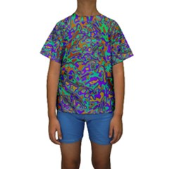 We Need More Colors 35a Kids  Short Sleeve Swimwear