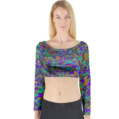We Need More Colors 35a Long Sleeve Crop Top