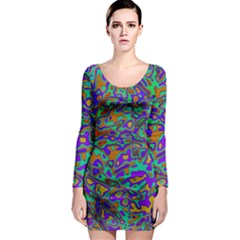 We Need More Colors 35a Long Sleeve Bodycon Dress