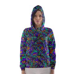 We Need More Colors 35a Hooded Wind Breaker (Women)
