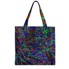 We Need More Colors 35a Zipper Grocery Tote Bag
