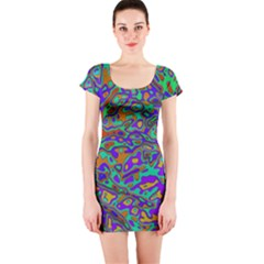 We Need More Colors 35a Short Sleeve Bodycon Dress
