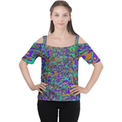 We Need More Colors 35a Women s Cutout Shoulder Tee