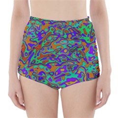 We Need More Colors 35a High-Waisted Bikini Bottoms