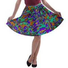 We Need More Colors 35a A-line Skater Skirt