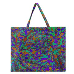 We Need More Colors 35a Zipper Large Tote Bag