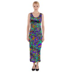 We Need More Colors 35a Fitted Maxi Dress