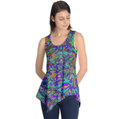 We Need More Colors 35a Sleeveless Tunic