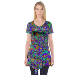 We Need More Colors 35a Short Sleeve Tunic