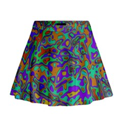 We Need More Colors 35a Mini Flare Skirt