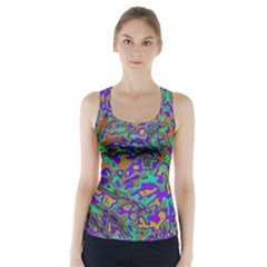 We Need More Colors 35a Racer Back Sports Top